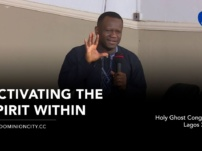 [Sermon] Pastor David Ogbueli – Activating The Spirit Within