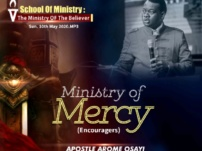 [Sermon] Apostle Arome Osayi – Need For The Mercy of God