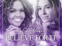 [Music, Lyrics + Video] CeCe Winans ft. Lauren Daigle – Believe For It