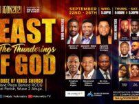 [Sermon] Apostle Orokpo Michael – Feast of the Thunderings of God